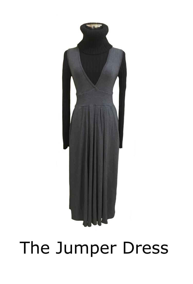 jumper dress V