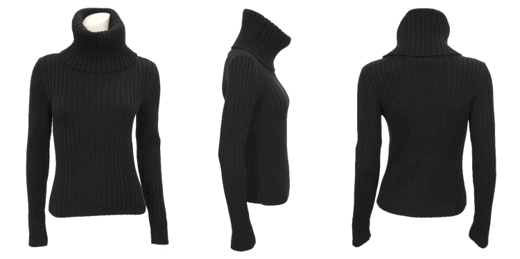 Theory Ribbed Turtleneck